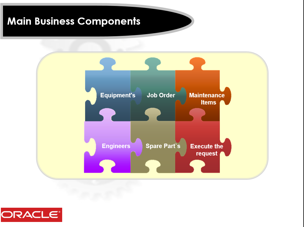 main business components